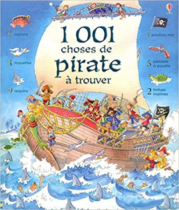 1001 choses de pirate à trouver