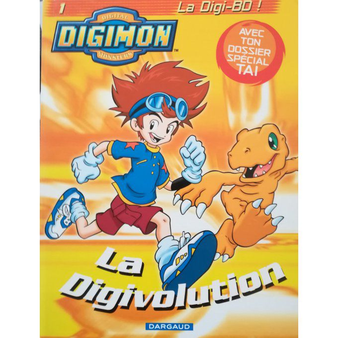 Digimon, la digivolution