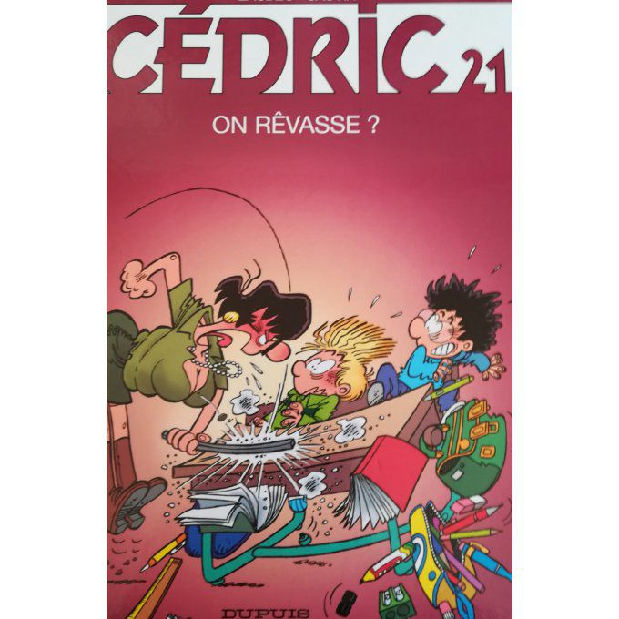 Cédric, on rêvasse ? T21