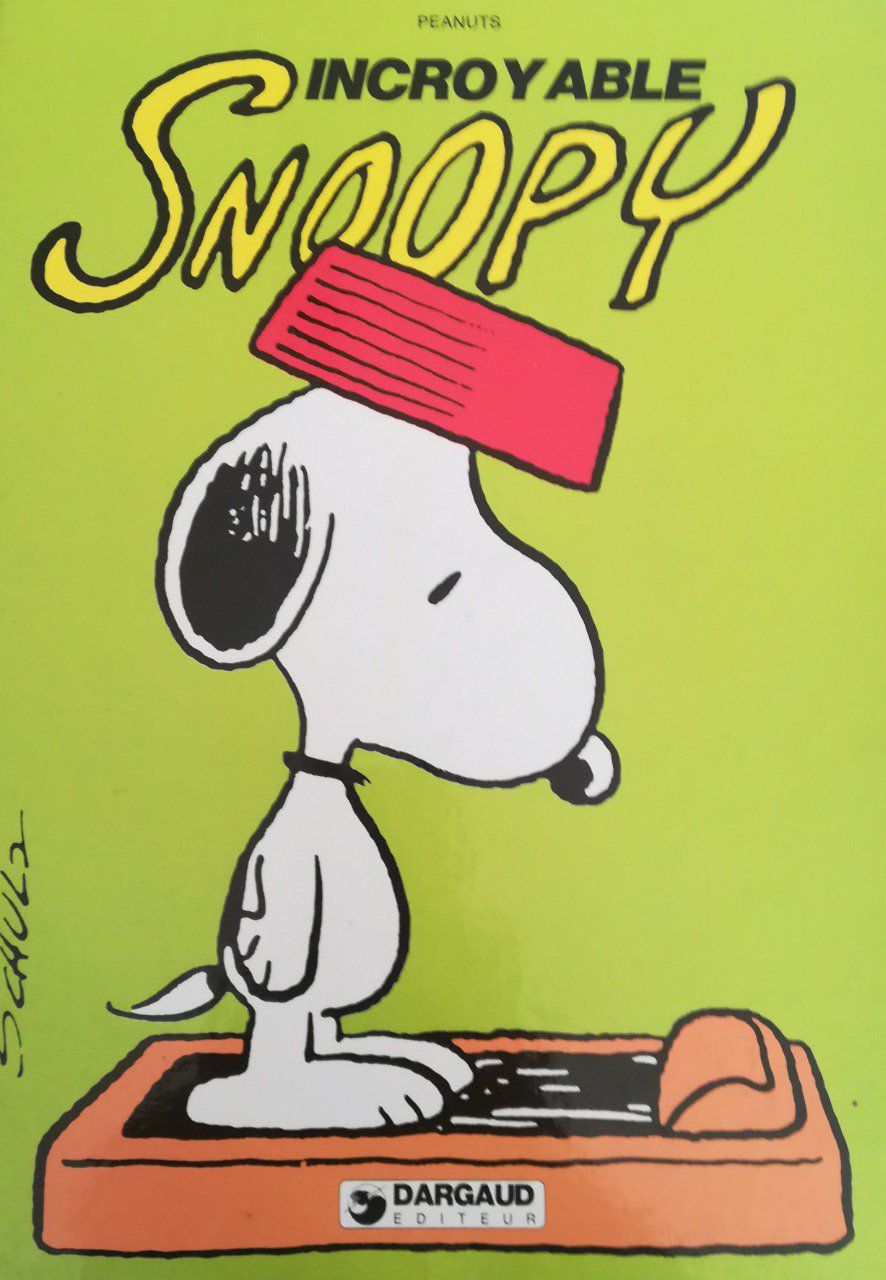 Incroyable snoopy